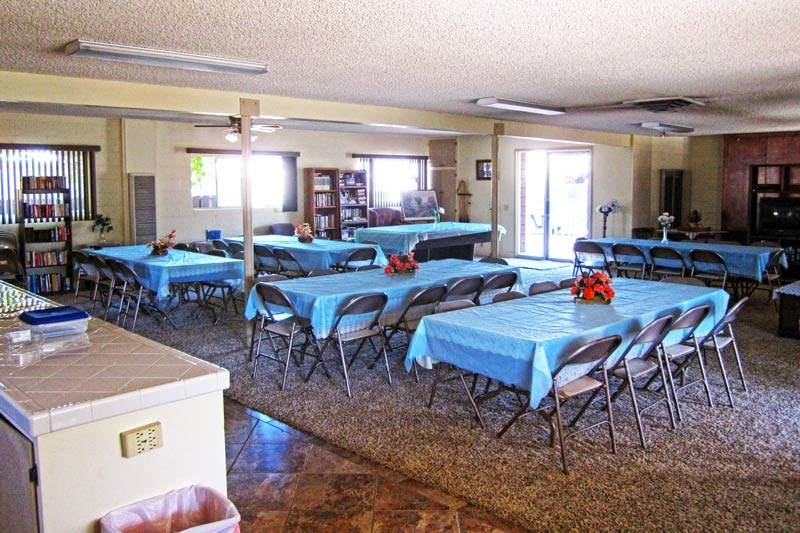 Our Clubhouse Is The Venue For Great Community Activities Newly Renovated Mobile Homes